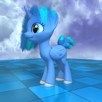 MLP Fluffy - Cloudrina by VeryOldBrony