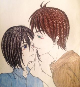 Eren x Mikasa - Gentle Touch by Enchanted-Wings