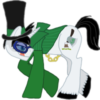 Greed-ler Pony 2 by hellwolfdemon