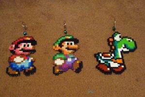 Perler Super Mario World Collection by Pika-Robo