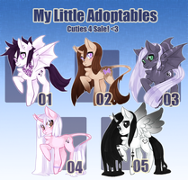 My Little Adoptables: Round Two [closed!] by Narrowed