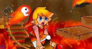 fire temple- red by YerBlues99