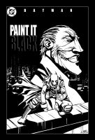 Paint it Black Cover Inks by sonicc