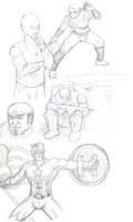 ABSOLUTE RANDOM SKETCHES by Scuter