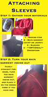 Attaching Sleeves Tutorial by midgarangel