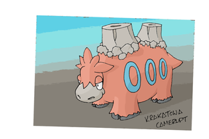 Number 323 - CAMERUPT by Skyblufox