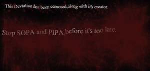 Against SOPA and PIPA by Xerik2