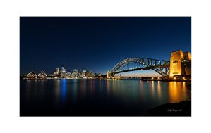 Syndey Harbour Bridge with Opera by SteDreLa
