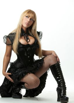 Tanit-Isis Black Outfit III by tanit-isis-stock