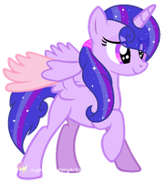 New oc Crystal Prism by SugarMoonPonyArtist