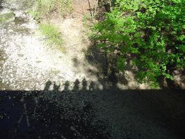 me and my friends shadows by ashumz1122