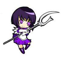 sailor saturn chibi by tachiik