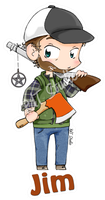 Keychain Jim by HeroesDaughter
