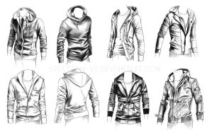 A study in jackets by Spectrum-VII