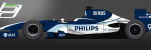 F1 Williams Livery by brandonseaber