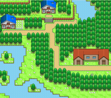 First Map/Town by Justy1711