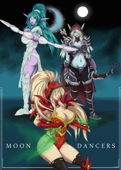 Moon Dancers by Shadney