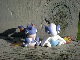 AT: Nidoqueen+Lugia pokedolls