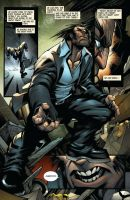 Wolverine #6 page 17 colors by Sandoval-Art