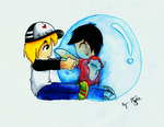 bubble trouble. by skyna