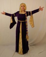 Medieval Maiden Stock 27 by MajesticStock