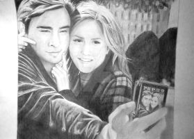 Chuck and Blair by artemisjoyce