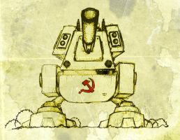 Soviet Walker by jwagnaar