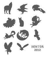 Silhouettes by hontor