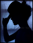 Blue Silhouette- by luzifer-photos