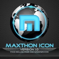 MAXTHON browser icon by m-deviant