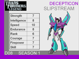 Transformers: Legend D08 = (Slipstream) by skyscream1