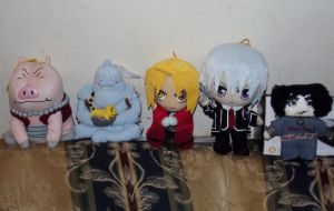 My plushie collection by mistylovesrocklee
