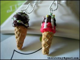 .:IceCream:. necklace.forsale by SaMtRoNiKa
