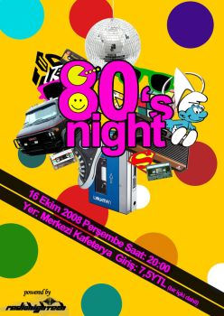 80's Night Party by cyberarmy56