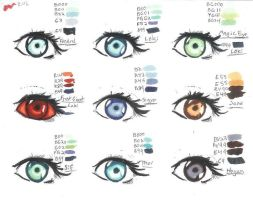 Thor Copics eye color chart by Alebireo
