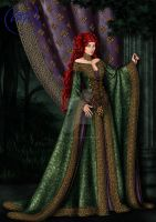 Revelcindra aka the Red Queen by Yagellonica