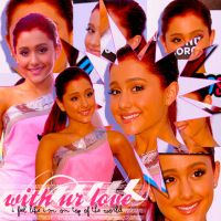 Ariana  Grande  Blend 2 by JoDirectioner