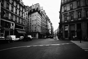 A Street In Paris by XxX-SXE-XxX