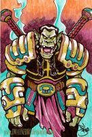 Orc Warrior by DwayneBro