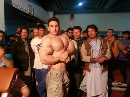 Musclemorphed Arab Hunk18a by free42dream