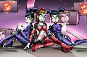 Robots Of The Galaxy by Sofie-Spangenberg