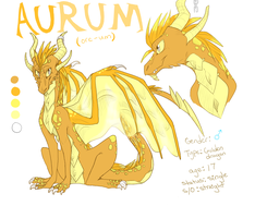 Golden Dragon by Luciiid