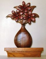 flower vase by cl2007