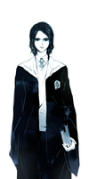 Severus Snape_16 years old by heilie-mill