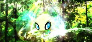 Celebi in the time warp by iPhlyte