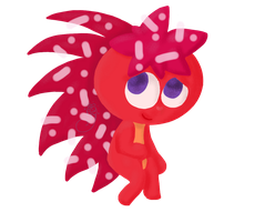 Flaky-HappyTreefreinds[No Outline-FanART] by SnowyAcorN