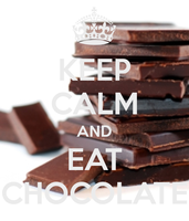 Keep-calm-and-eat-chocolate by ohmygoskjackfrost