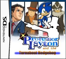 Professor Layton and the Turnabout Hedgehog by YinUkume