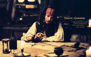 Captain Jack Sparrow Wallpaper by lisong24kobe