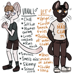 Vanill and Lef Adopts: OPEN by FrooFrusc